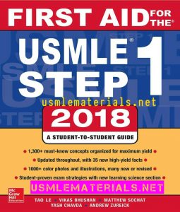 First Aid For The USMLE Step 1 2018 Ed PDF