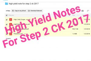 High Yield Notes 2017 Archives | USMLEMaterials | Last USMLE Study