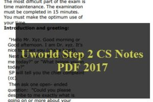 Usmle materials fantastic educational website that interested in uworld step 2 cs notes pdf 2017 very important fandeluxe Choice Image