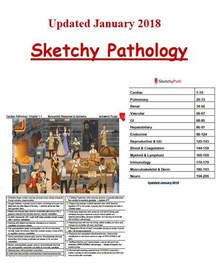 Sketchy Medical Pathology Notes and Pictures (Updated