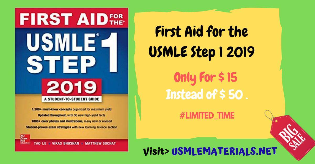 First Aid for the USMLE Step 1 2019, (29th Edition) Plus New