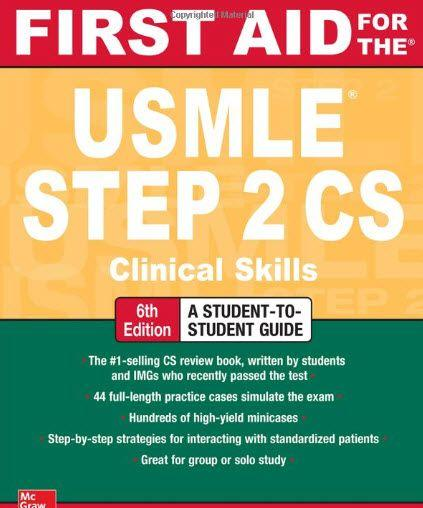 First Aid for the USMLE Step 2 CS 6th Edition | USMLEMaterials