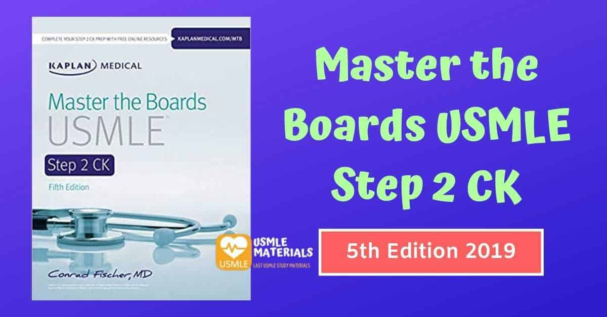 Master the Boards USMLE Step 2 CK 5th Edition 2019