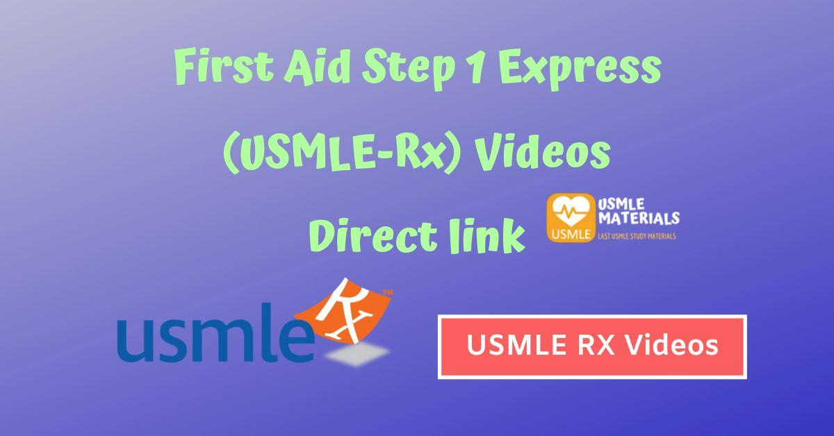 first aid express videos 2018 download free